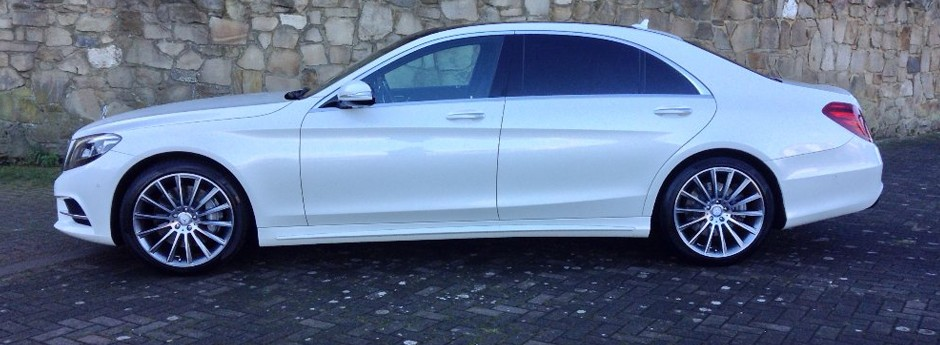 Mercedes S Class Wedding Car in Fife